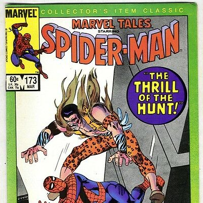 The Amazing Spider-Man #34 Reprint in Marvel Tales #173 from Mar. 1985 in Fine+
