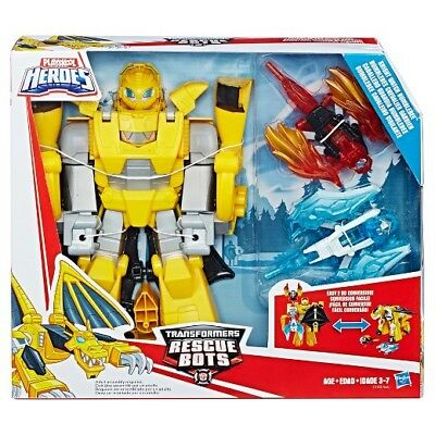 New Hasbro Transformers Rescue Bots Knight Watch Bumblebee C1122
