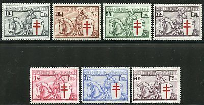 Belgium  Anti Tb  Scott#b156/62  Mint Nh---Scott Value $550.00