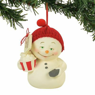 Department 56 Snowpinions New 2017 BINGE WATCHING Snowman Ornament 4057415