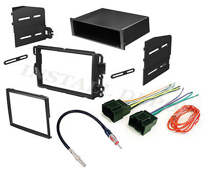Chevy Gmc Complete Radio Stereo Install Dash Kit Plus Wire Harness & Ant Adapter