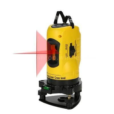 2 Lines Cross Laser Level 360 Rotary Cross Line Leveling W/ Vertical Horizontal