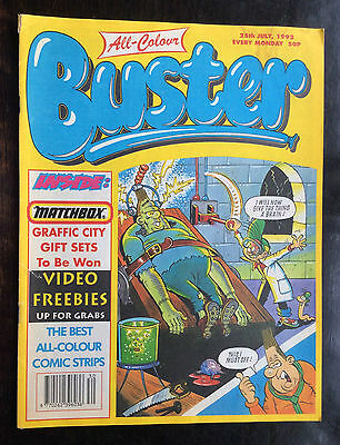 Buster Comic 25 July 1992. Vfn. Lovely  Condition