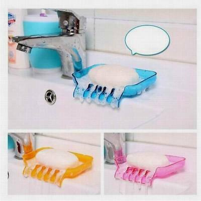 Gracious Bathroom Suction Container Dispenser Case Soap Box Dishes Holder
