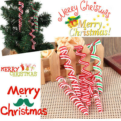 Sweets Acrylic Christmas Candy Canes Super Stocking Filler  Xmas Tree Decoration