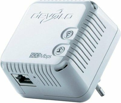 devolo dLAN 500 WiFi Einzeladapter Brown-Box (500MBit, Powerline, WLAN Repeater)