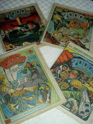 2000AD : A COLLECTION of 230 PROGS, all different. JUDGE DREDD etc.1980 onwards