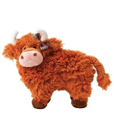 GUND Hairy Coos Shona The Highland Cow Plush Soft Toy 19cm New With Tags