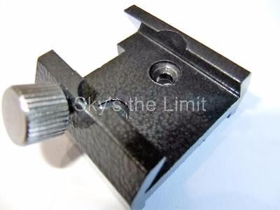 Telescope accessory bracket for finderscope, red dot finder etc. grey