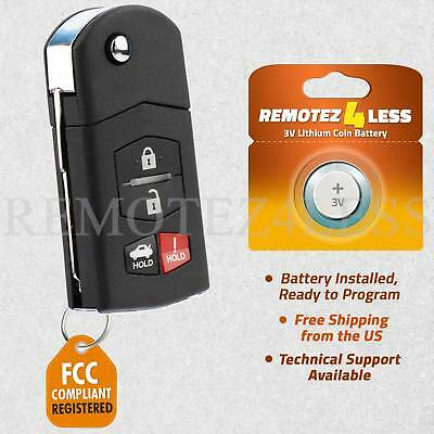 Keyless Entry Remote for 2010 2011 2012 2013 Mazda 3 Car Key Fob Control