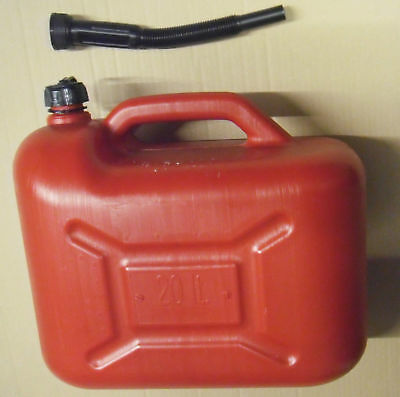 20L Canister Plastic Can Spare jcanister FUEL TANK CONTAINER