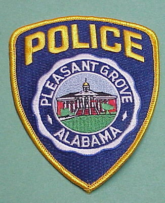 Pleasant Grove  Alabama  Al  Police Patch   Free Shipping!!!
