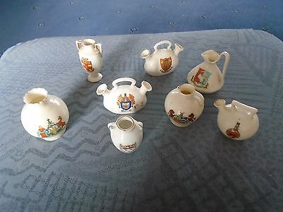 collection of Little crested china pieces (v1)