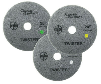 "Twister 20"" Starter Pack 3 Piece 1 each Green, Yellow, White"