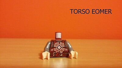 LEGO Signore degli anelli Lord of the rings Torso EOMER from set 9471