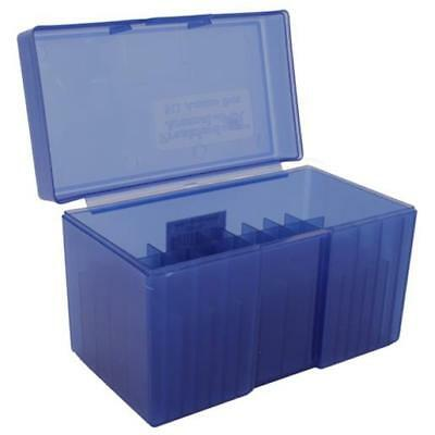 162882 Frankford Arsenal 7mm Remington Magnum Flip Top Ammo Box 50 Rounds Plasti