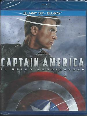 Captain America. Il primo vendicatore 3D (2011) 2 Blu Ray