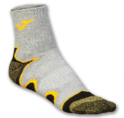 JOMA SOCKS WAVES GREY-YELLOW Running CALZINI DONNA