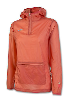 JOMA RAINJACKET TROPICAL ORANGE Running IMPERMEABILE DONNA