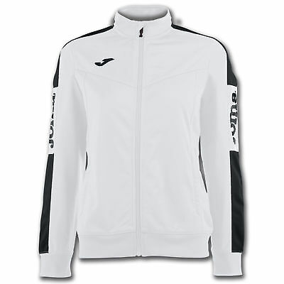 JOMA FELPA ZIP CHAMPION IV DONNA BIANCO Uniforms