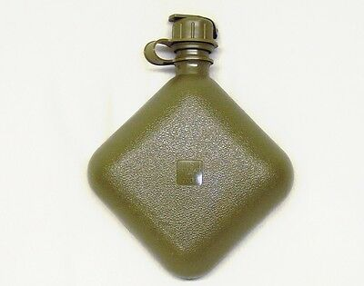 USA made military issue M1 NBC capped 2 quart olive drab collapsible canteen new