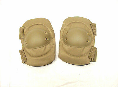 Atlanco Tru-Spec coyote brown exterior elbow pads double strap padded tactical