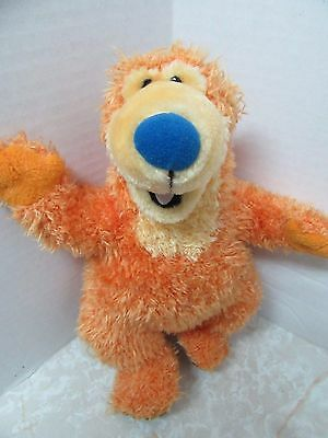 "11"" Bear in the Big Blue House Bean Bag Plush Stuffed Animal by Applause 1999"