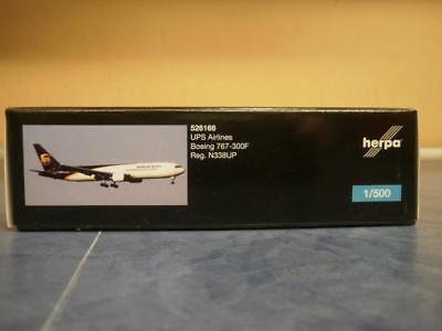 Herpa Wings 1:500 Boeing 767-300F UPS Airlines