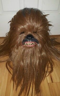 Rubies Adult Chewbacca Supreme mask costume prop Star Wars 909878 Realistic