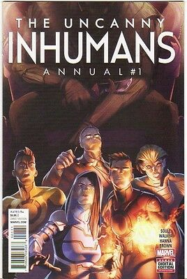 The Uncanny Inhumans Annual #1 NM (2016) Marvel Comics