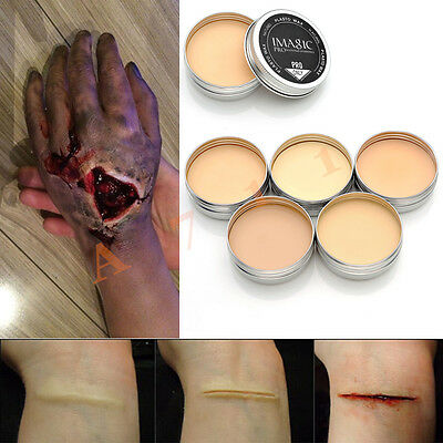FX Spezial Effekt Latex Make Up Narbe Stigmata Verletzung Wunde Halloween Horror