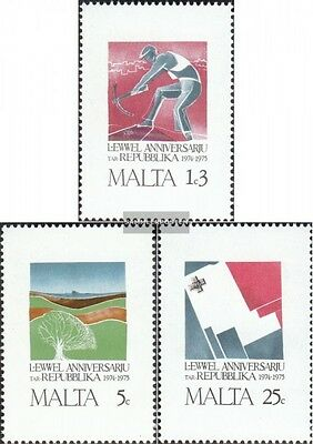 Malta 521-523 (complete.issue.) unmounted mint / never hinged 1975 1 Year Republ