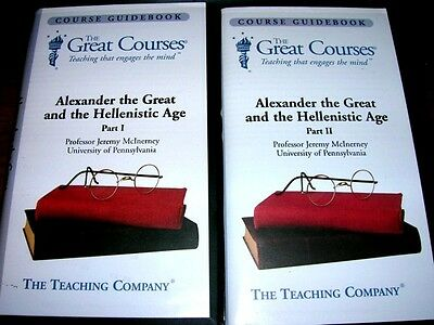 Teaching Company Alexander Ancient Greek Hellenistic Age University Audio Course