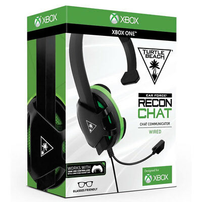 Turtle Beach XBox One Gaming Chat Headset Recon Wired -  BRAND NEW