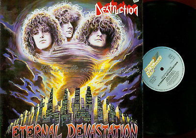 Lp-Destruction Eternal Devastation // Sh0046 // 1986 Germany Steam Hammer