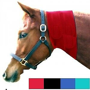 Horse Red NECK SWEAT NEOPRENE Wrap Cover Tack 52018