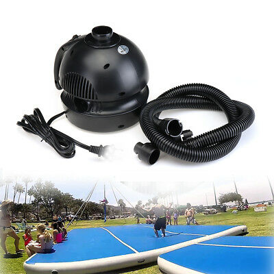 Air Pump For Airbed Air Track Floor Home Gymnastics Tumbling Mats Inflatable GYM