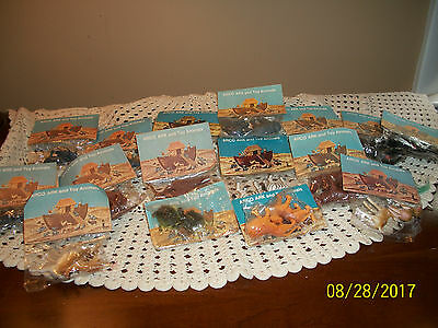18 Mint in Pkg Arco Vintage Noah's Ark Animals Two by Two