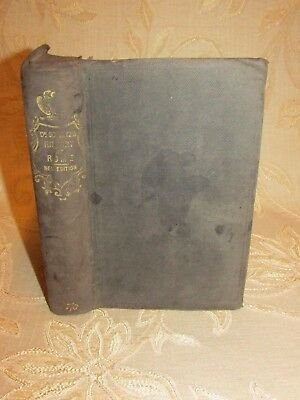 Antique Book Of A History Of Rome, By Dr. Leonard Schmitz - 1859