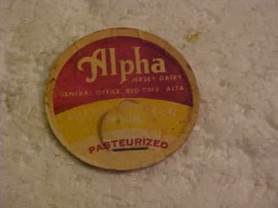 Alpha Daries Milk Bottle Cap