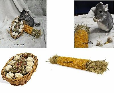 Rosewood Naturals Christmas Treat Basket & Flower Cracker Small Animal Treat
