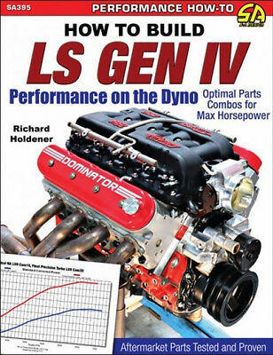 How To Build LS Gen IV - Performance On The Dyno - Book SA395