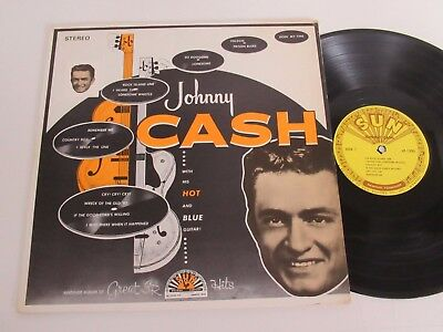 Johnny Cash/with His Hot And Blue Guitar!  Lp 1957 Usa Sun Lp-1220