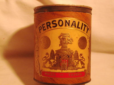 Cigar Tin Personality Tampa with lid