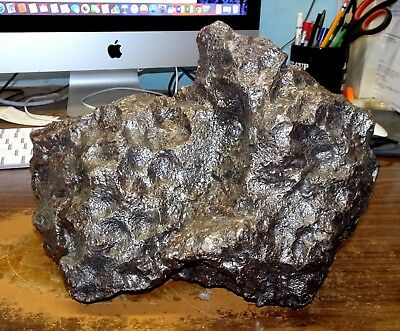 Huge 16.7 Kg. Campo Del Cielo Meteorite ;museum Collection Meteorite; 36 Lbs