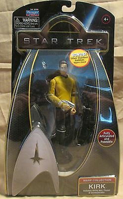 Star Trek Movies Warp Collection Captain Kirk Playmates 2009 mint in package