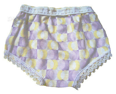 Lavender/Yellow Undies Panties for American Girl Doll Clothes Underwear
