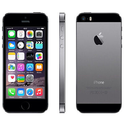 Apple iPhone 5S 16GB Space Grey (Unlocked/SIM FREE)  - 1 Year Warranty