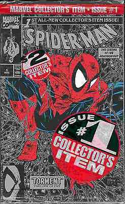 Spiderman # 1 (Todd McFarlane, silver edition bagged) (USA, 1990)