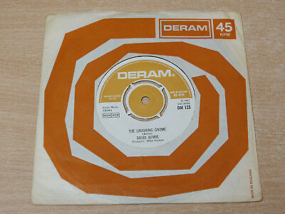 "EX- !! David Bowie/The Laughing Gnome/1967 Deram 7"" Single"